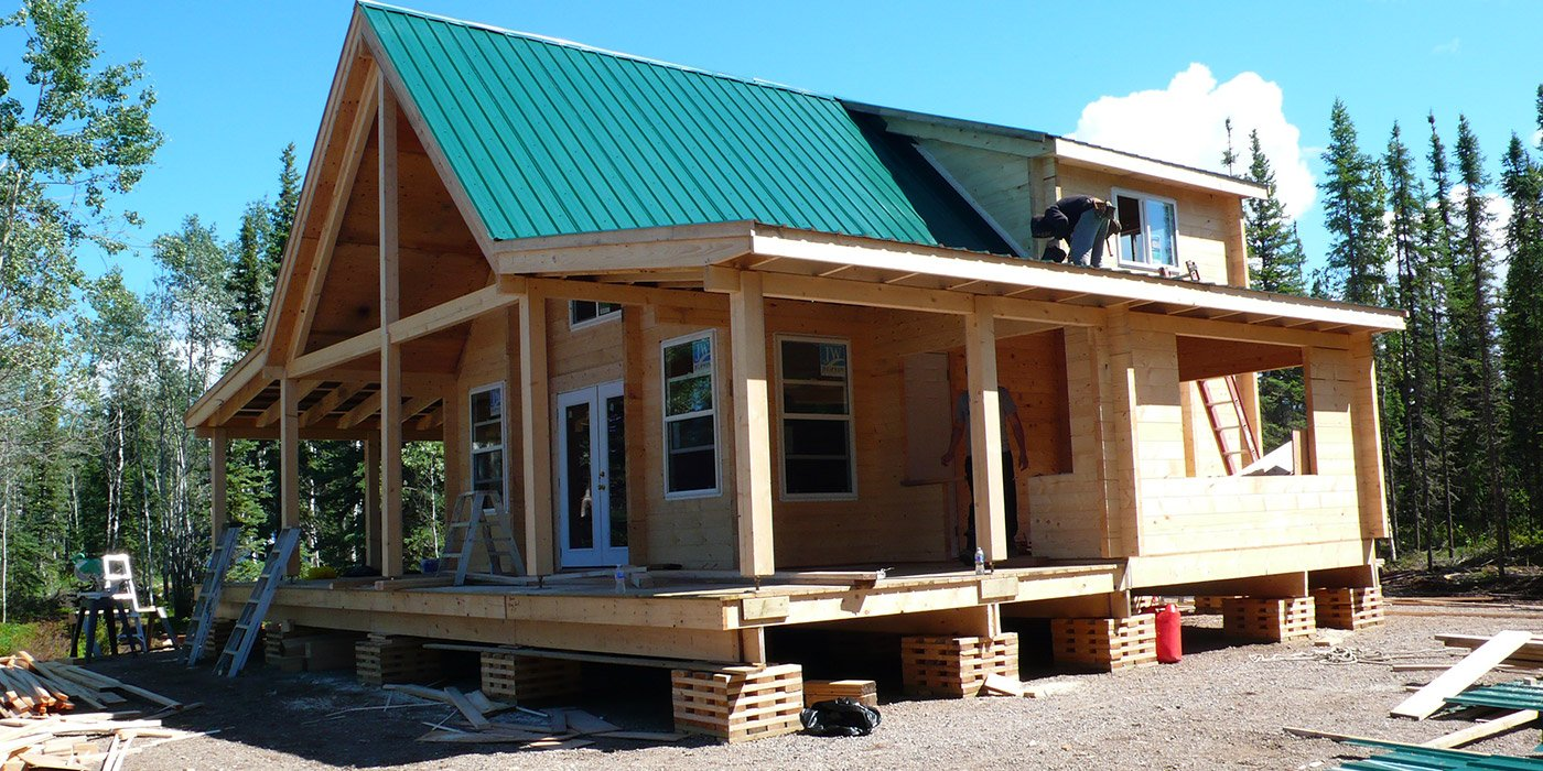 Log Cabin Homes Canada Timber Frame Hunting Cabins Or