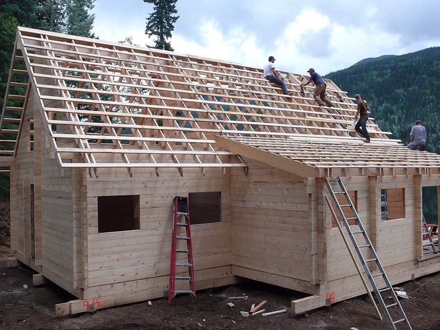 Log Cabin Roof System
