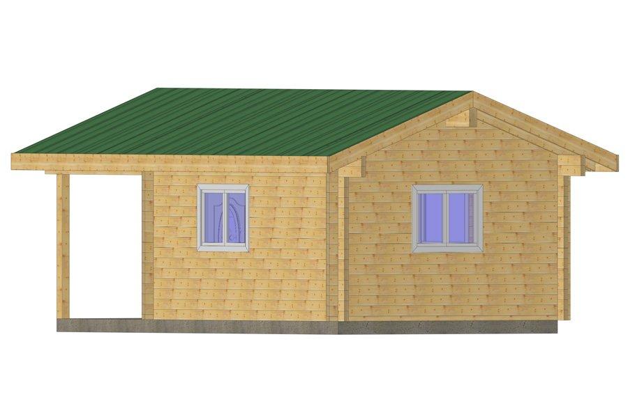 Pioneer Cabin Plan